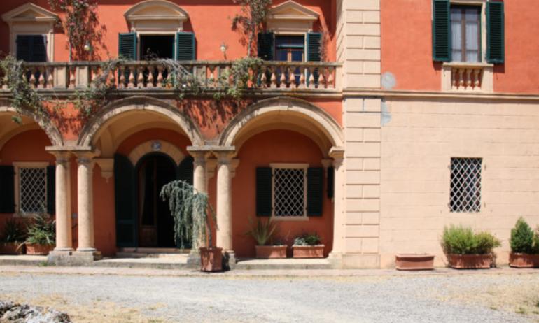 Façade Exterieure Villa Lena Italie Toscane