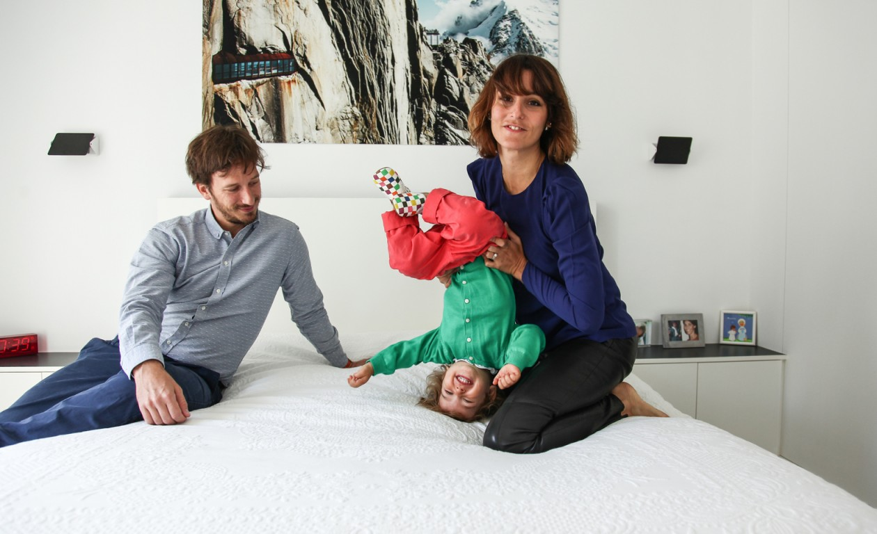 Alexia Aubert et Mathieu Albertini, Philippa 2 ans