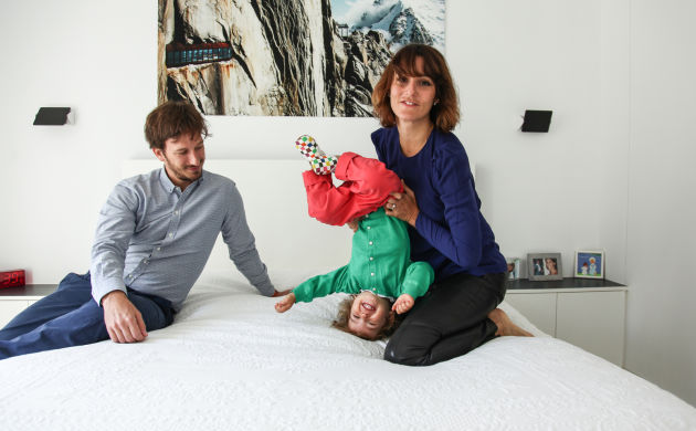 Alexia Aubert et Matthieu Albertini, <br/> Philippa 2 ans