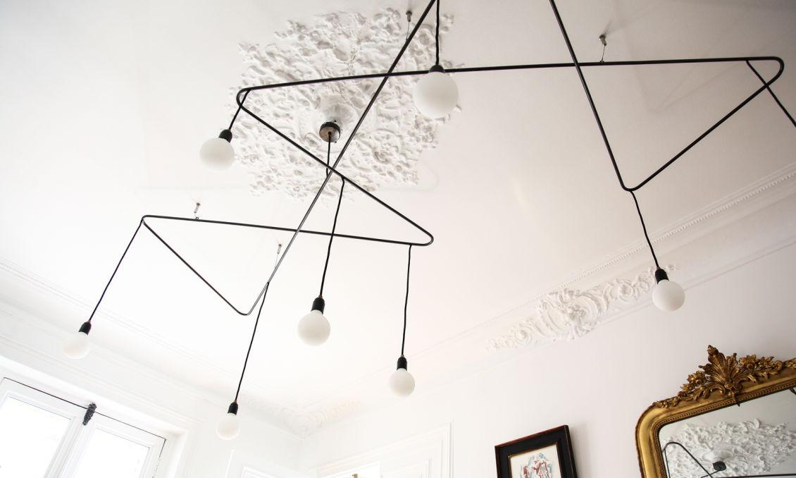 suspension salon elegant ikea luminaire suspension with salle manger with suspension salon. Black Bedroom Furniture Sets. Home Design Ideas