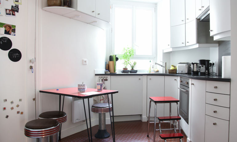 Cuisine Appartement Alexia Aubert Matthieu Albertini Paris