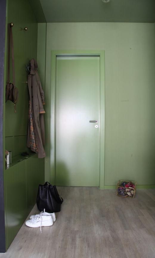Entrée kaki Appartement Anna Cor Appartement