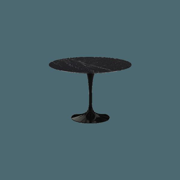 Black And Marble Saarinen Table