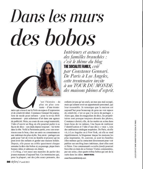 The Socialite Family dans la presse