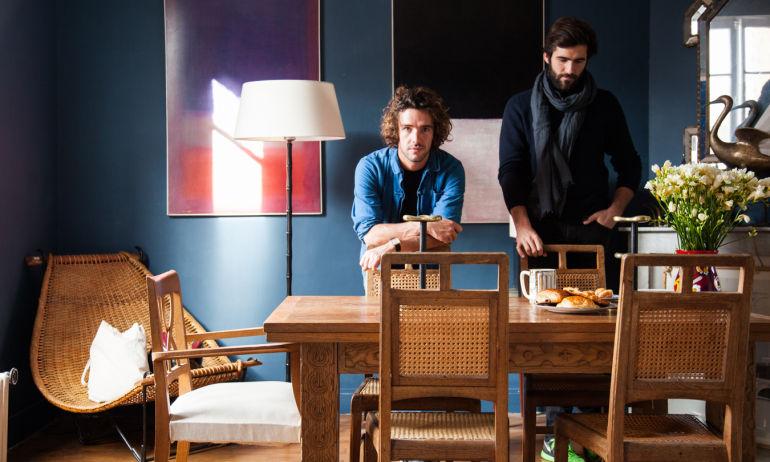 Salle à manger chaises en cannage Odin et Archibald