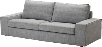 ikea kivik grey sofa the socialite family