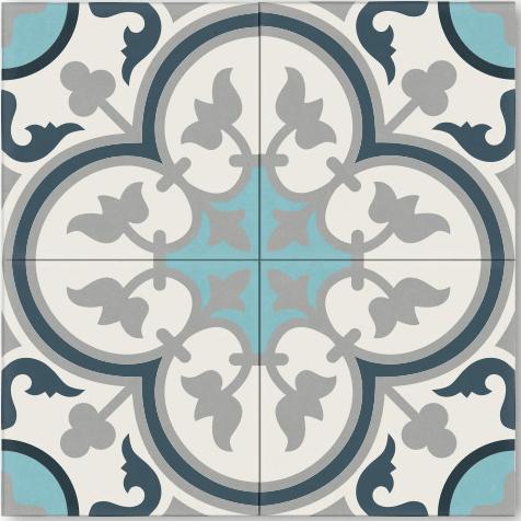 Quot Four Leaf Clover Quot Cement Tiles The Socialite Family