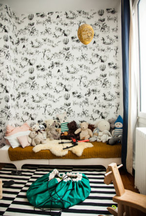 Chambre d'enfant – Papier peint toile de joie