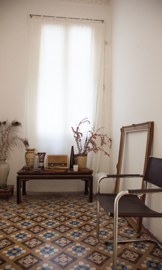 Salon Appartement Barcelone Eva Garcia et Nicolas Markuerkiaga
