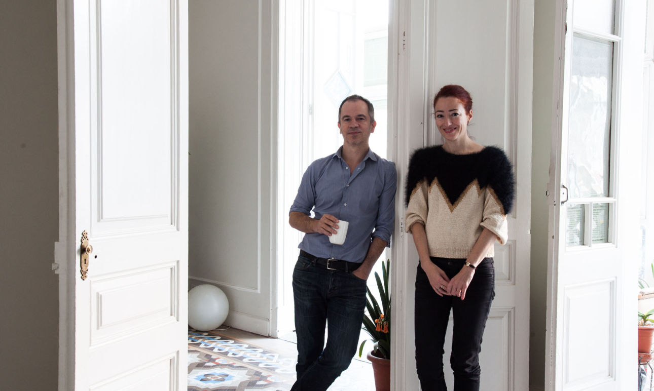 Eva Garcia et Nicolás Markuerkiaga