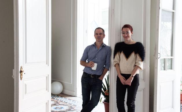 Eva Garcia and Nicolás Markuerkiaga