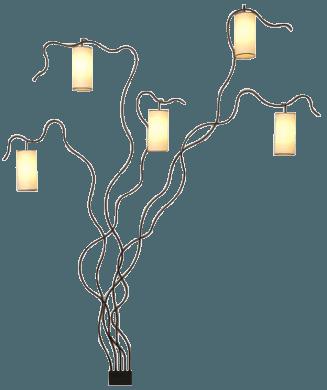 """Jean Royère, """"Liane"""" Lamp"""