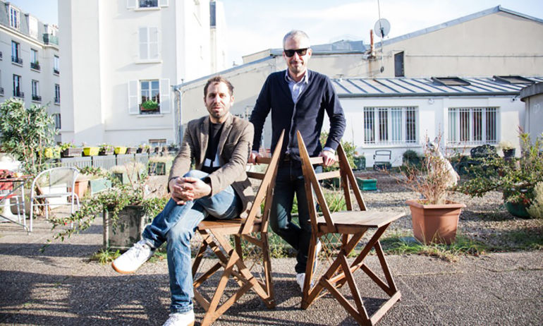 Boris Vian et sa chaise musicale