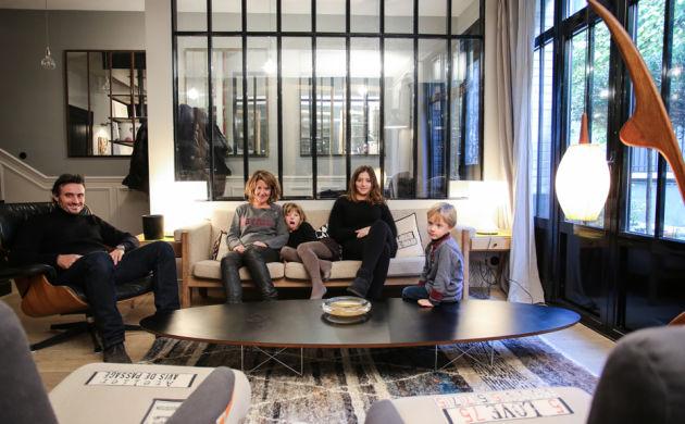 Chez la créatrice de Maison Caumont, Laure Vial du Chatenet, Paris 15ème