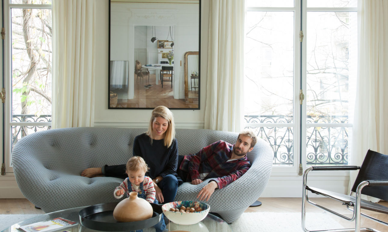 Antonin and Elisa, Léontine 11 months