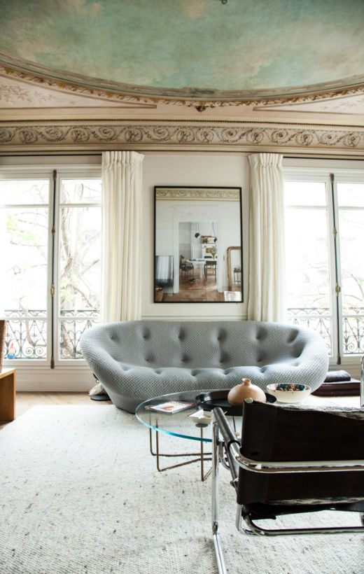 Salon Appartement Paris Antonin Roy