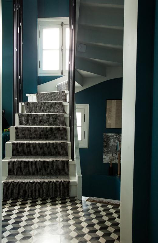 Escaliers Appartement Paris Antonin Roy