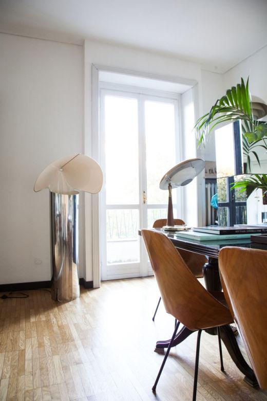 Lampes Appartement Cristina Celestino Milan