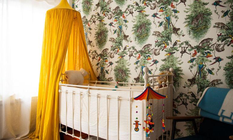 La chambre d'enfant de Samantha Hauvette