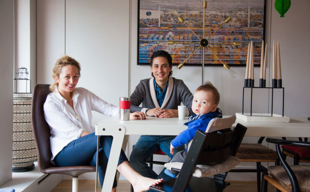 Samantha Hauvette et Swan, Achille 10 mois