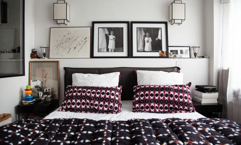 La chambre à coucher de Samantha Hauvette