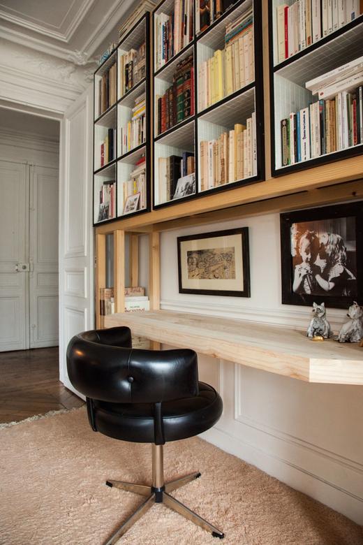 Bureau Appartement Paris Alix Thomsen