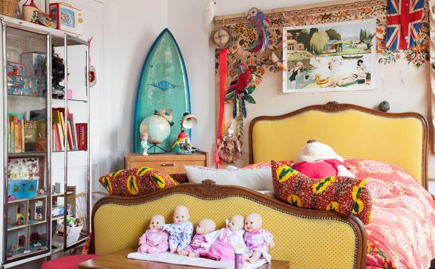 chambre multicolore Alix Thomsen