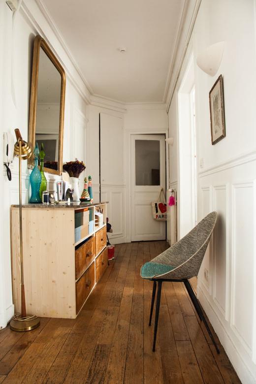 Couloir Entrée Appartement Paris Alix Thomsen