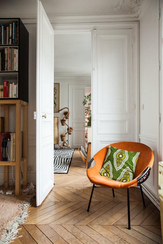 Salon Coussins CSAO Paris Appartement Alix Thomsen