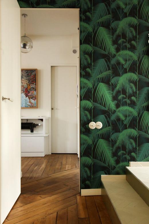 papier peint exotique chambre delphine crech'riou