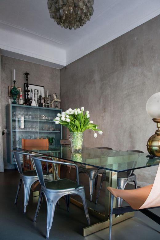 salle à manger michele pasini fauteuil A56