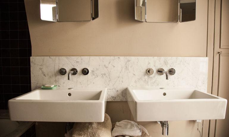 salle de bain Appartement tamara taichman
