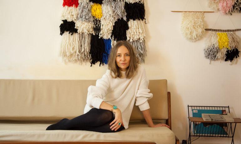 Annabelle Jouot, <br/>quand le tissage mural devient oeuvre d'art