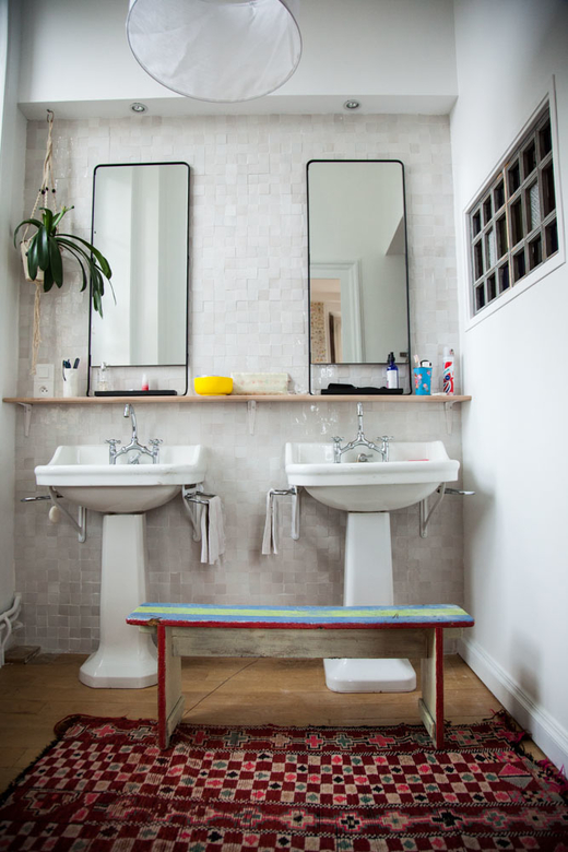 salle de bain deux lavabos Marine Palayer