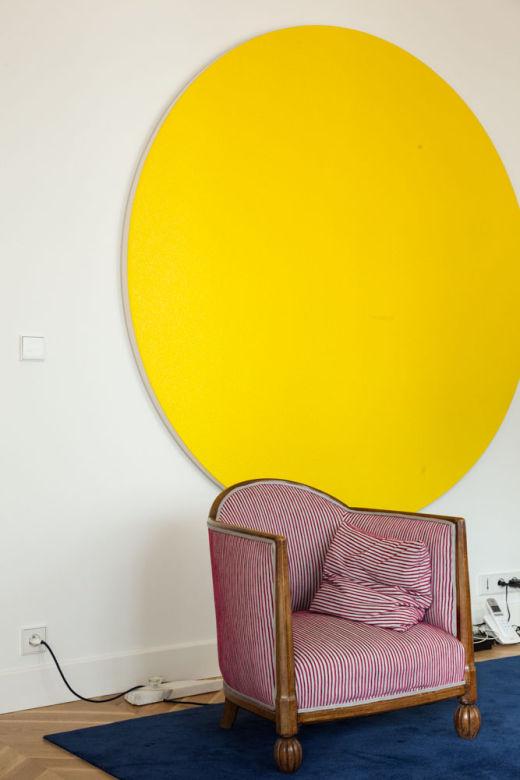 Oeuvre Galerie Art Fauteuil Salon Romain Torri