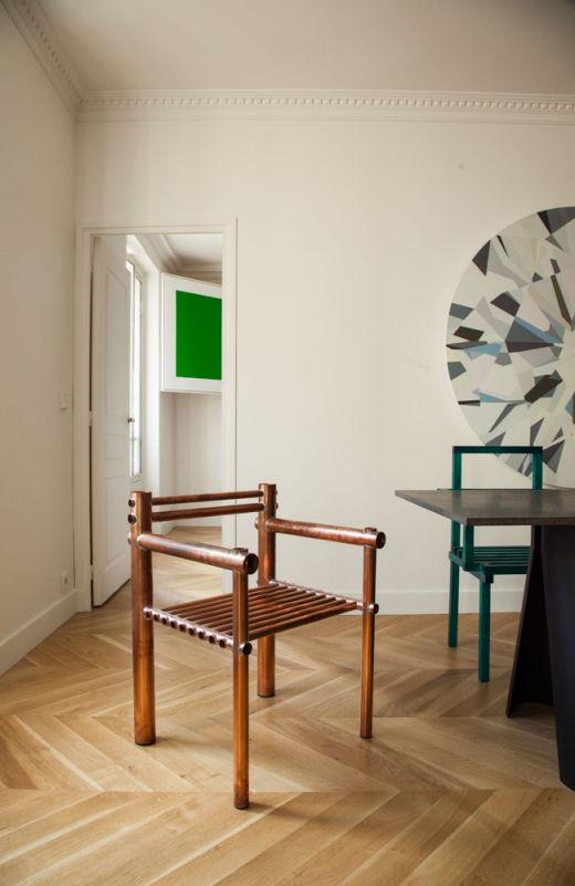 Salon Fauteuil Galerie Romain Torri