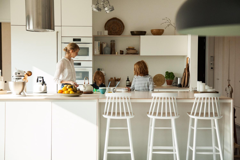 Cuisine Fermée En U open-plan or closed kitchen? - the socialite family