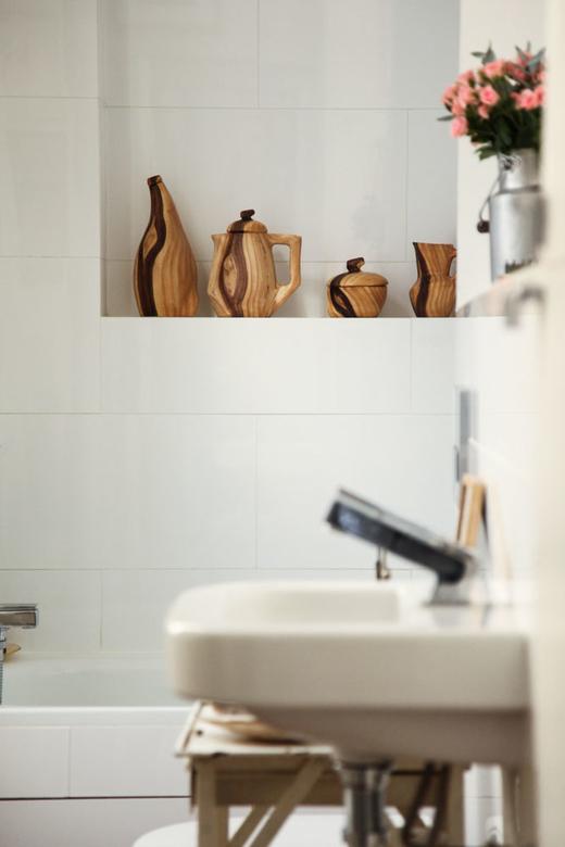 Salle de bain chez Alexandra Loewe