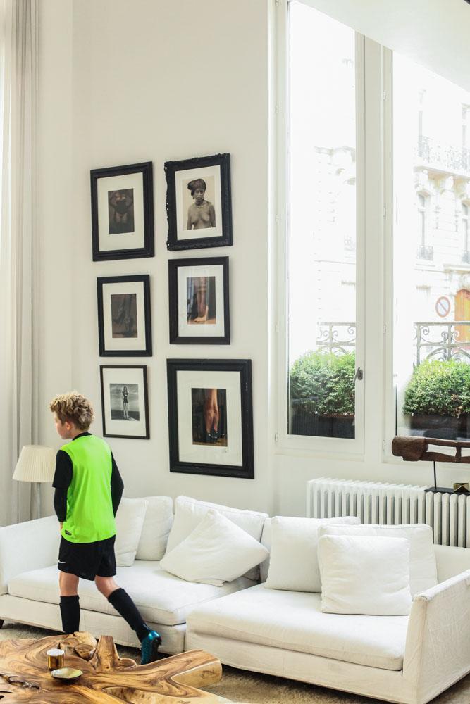 Ingrid Seynhaeve and Jean-Baptiste Iera, <br/>Lukas 10, Hayden Kaye 6 years old