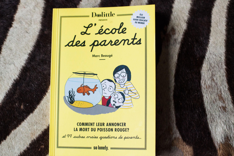 Marc Beaugé, retour à l'école des parents