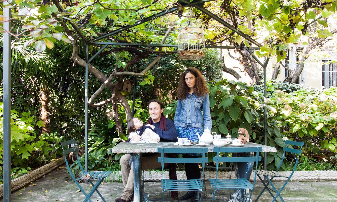Paolo Casati et Silvia Gherra, <br> Maddalena 5 ans