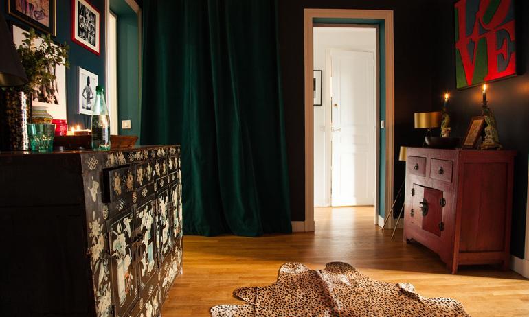 Entrée Appartement Paris Veronica Fanfani