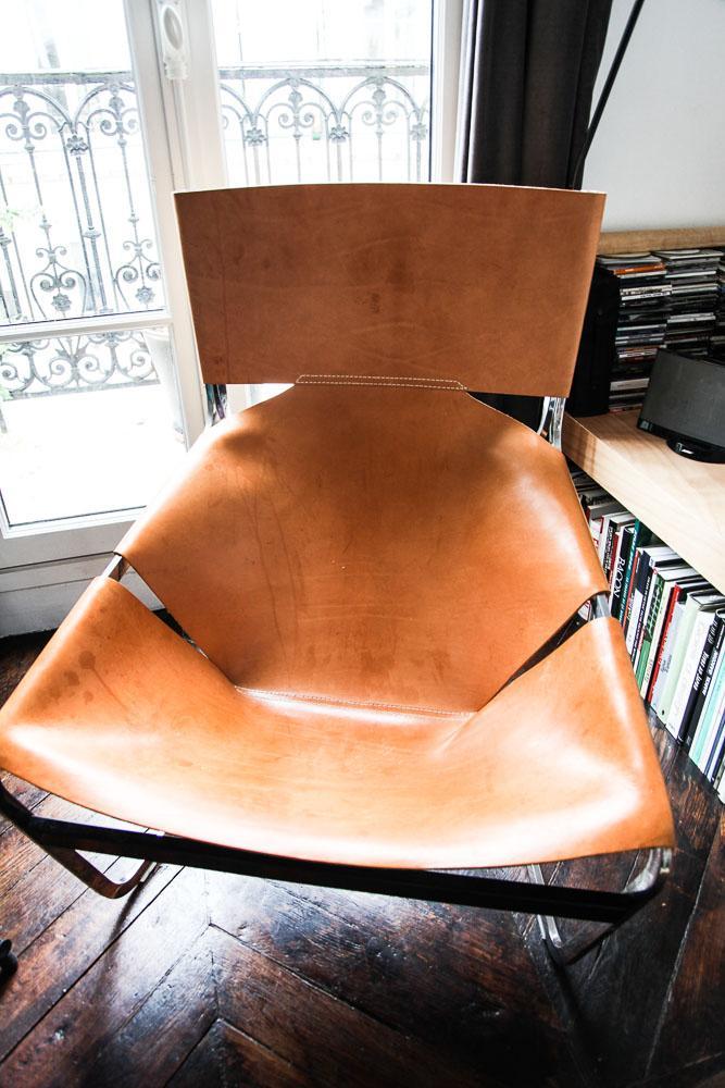 Une chaise F444 signée Pierre Paulin chez Benjamin Paulin