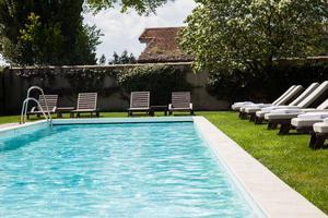 Piscine – Chateau Cordeillan-Bages