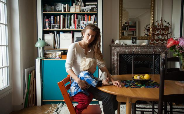 Sonia Sieff and Joseph, 2 years old