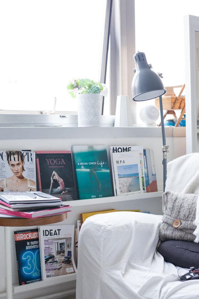 Un véritable kiosque de magazines chez Sophie Trem