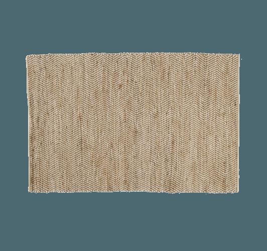 cotton and jute rug with tapis jute maison du monde. Black Bedroom Furniture Sets. Home Design Ideas
