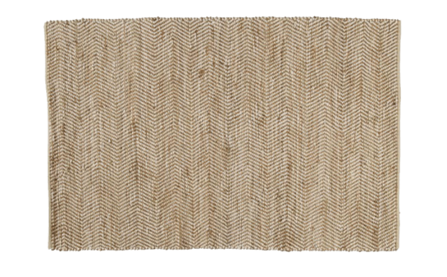 Cotton and Jute Rug