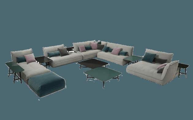 Composition Octet Sofa