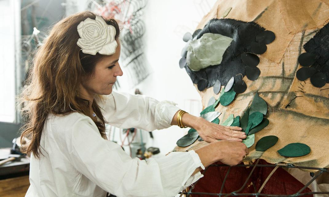 travail sculpture Zoé Rumeau